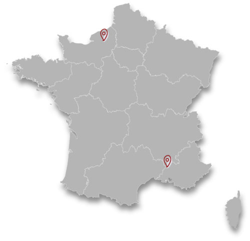 Carte France Flowly